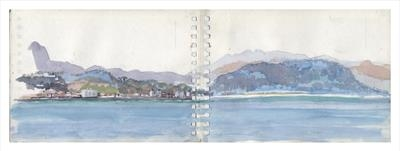 Baracoa III (Cuba) by Kevin Tole, Painting, Watercolour on Paper