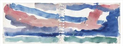 Cienfuegos Sunset I by Kevin Tole, Painting, Watercolour on Paper