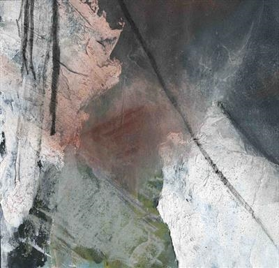 Hemerdon Pit 1 by Kevin Tole, Painting, Mixed Media on paper