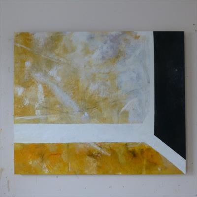 Naples Yellow II by Kevin Tole, Painting, Oil on canvas
