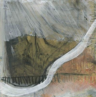 Small Pit 1 by Kevin Tole, Painting, Acrylic and charcoal on card